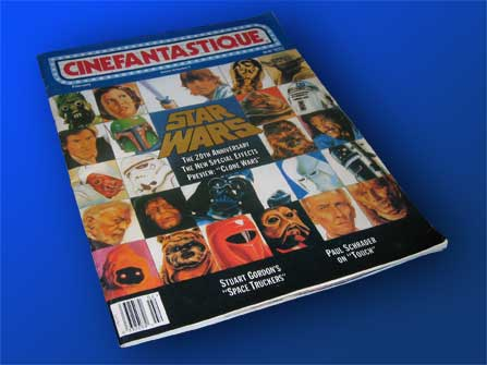 CINEFANTASTIQUE cover, late 1996, Star Wars Special Edition, The Clone Wars