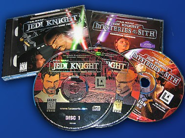 Jedi Knight: Dark Forces II and its intriguing add-on Mysteries of the Sith are legendary LucasArts releases. The latter dropped the full motion video sequences and relied on the game engine to tell the story of how Mara Jade rescues Kyle Katarn from the Dark Side of the Force.