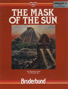 Mask of the Sun by Broderbund, released in 1982, click to play You Tube video.