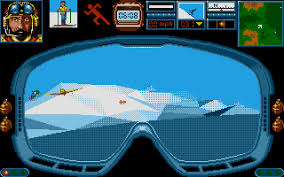 Midwinter by Mike Singleton, released by Rainbird Software in 1988, was an unparalled technological achievement, a full-fledged strategy game almost entirely played from a first-person perspective.