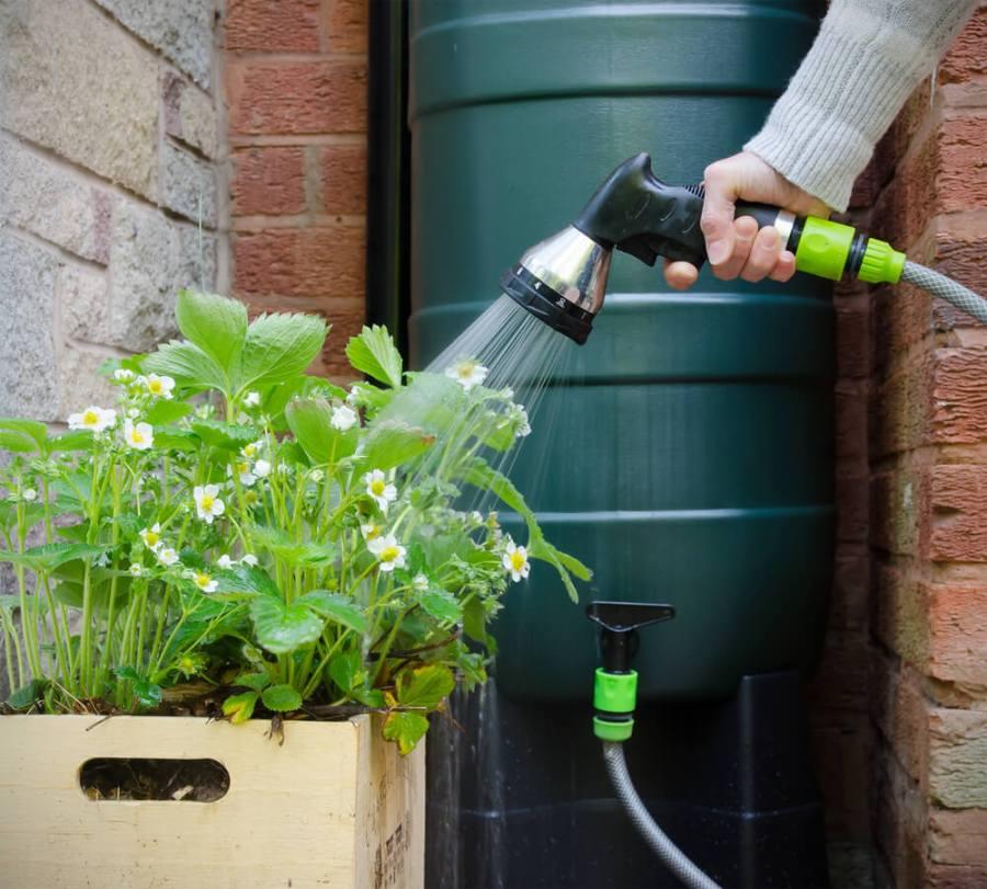 Récuperation eau de pluie
