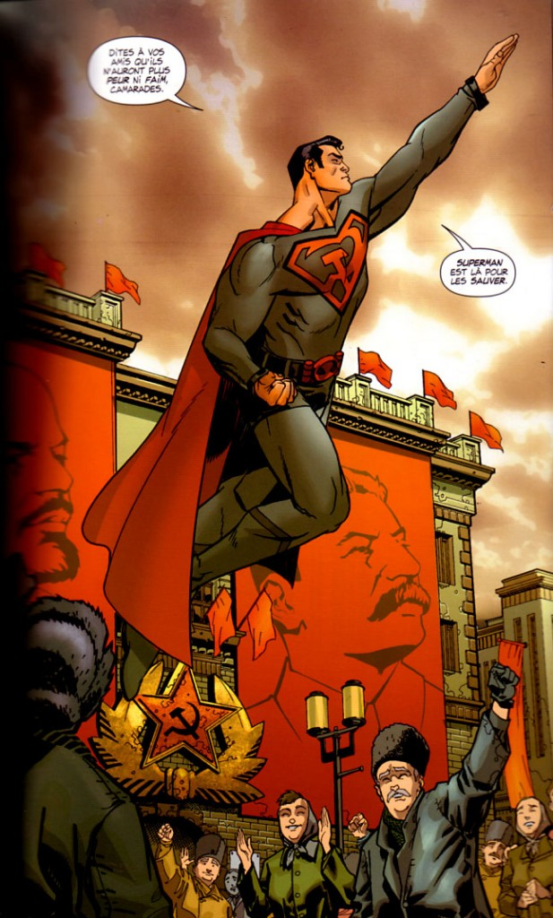 Extrait de Superman - Red Son