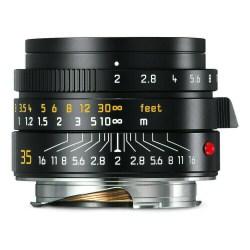 Leica M Summicron 35 mm f/2 noir - 11673