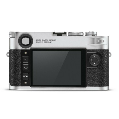 Leica M silver back