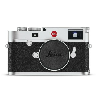 Leica M silver front