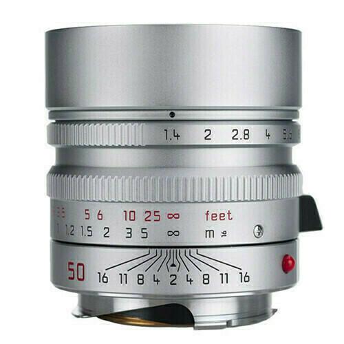 Leica M Summilux  silver face