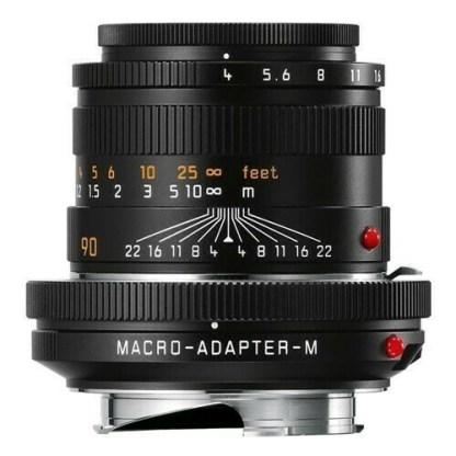 Leica M macro elmar  rentre bague