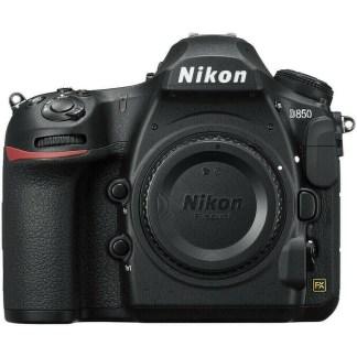 Nikon D front
