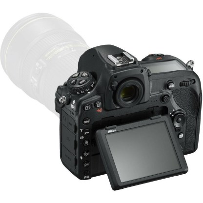Nikon D screen back