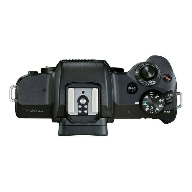 Canon EOS M50 Mark II noir appareil-photo-hybride 4