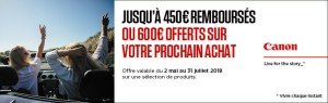 offre canon summer