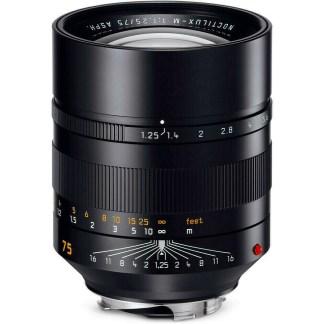 Leica M Noctilux 75mm f/1,25 noir
