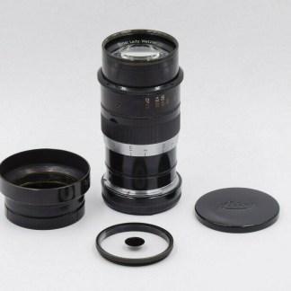 Leica M à vis Thambar 90mm f/2.2 (1935)
