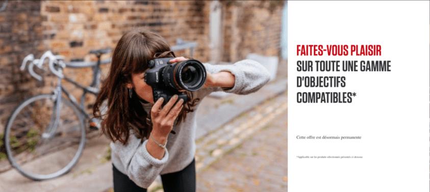 Canon - créez votre kit - offre permanente