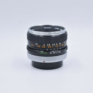Canon Fd 28 mm f/3.5 Super Canomatic - 30258