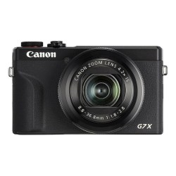 Canon PowerShot G7X mark III Noir - face