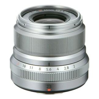 Fujifilm XF 21 mm f/2 R WR Argent