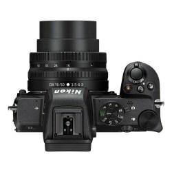 Nikon Z50 + Z DX 16+50 - Dessus