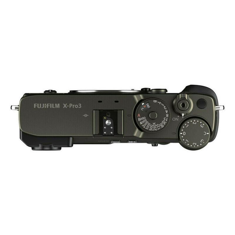 Fujifilm X Pro3 Dura Noir Dessus
