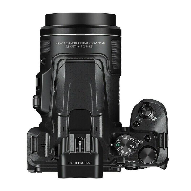 Nikon Coolpix P950 - dessus