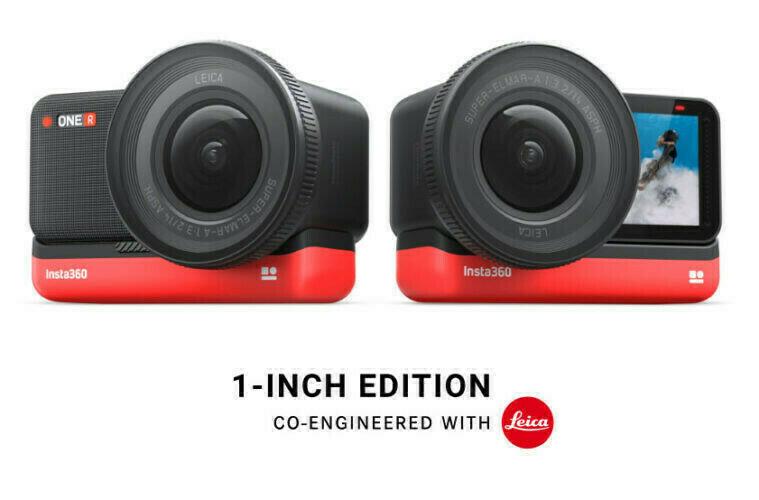 Leica et Insta360