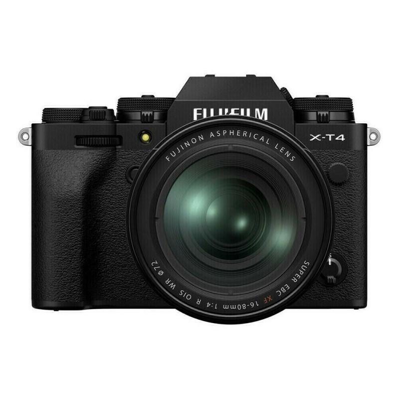 Fujifilm X-T4 + XF 16-80 - Noir - face
