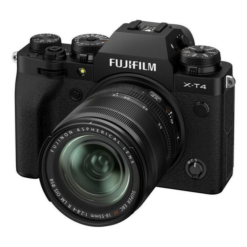 Fujifilm X-T4 + XF 18-55 - Noir - face 2