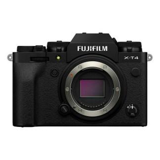 Fujifilm X-T4 nu - Noir - face