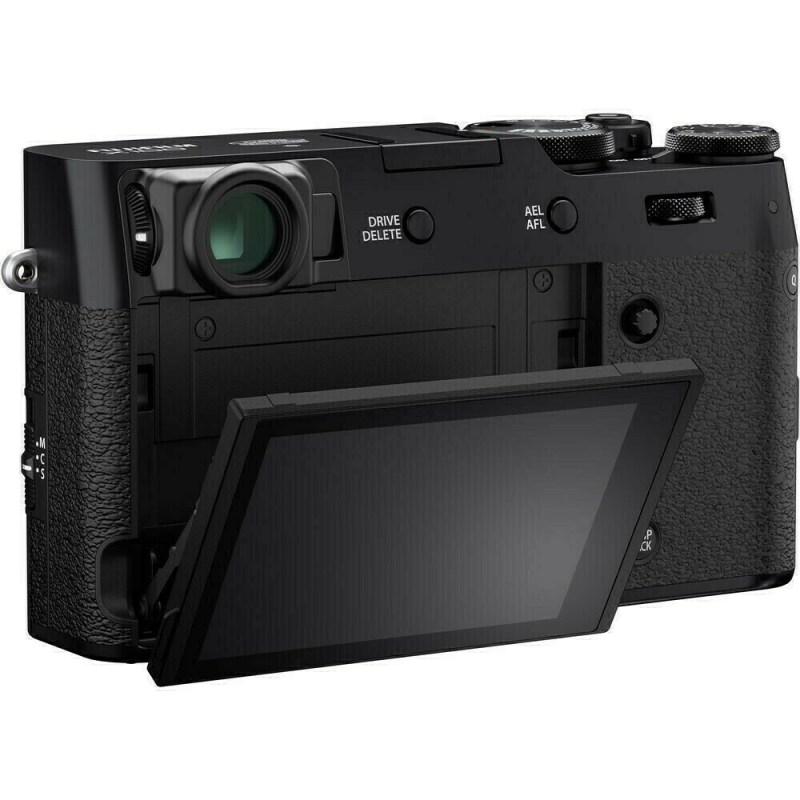 Fujifilm X100V - Noir - dos ecran