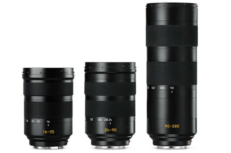 Leica objectifs Vario SL