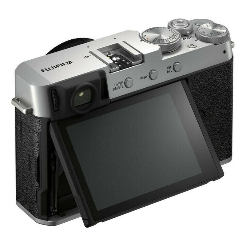 Fujifilm X-E4 Silver - 4