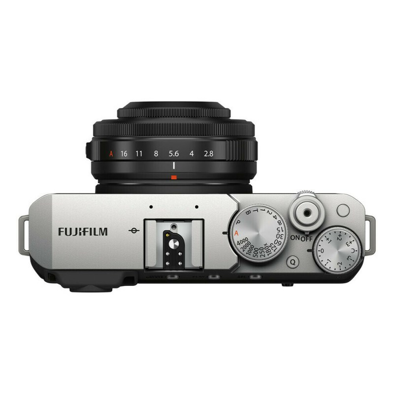 Fujifilm X-E4 Silver 27mm f/2.8 - 2