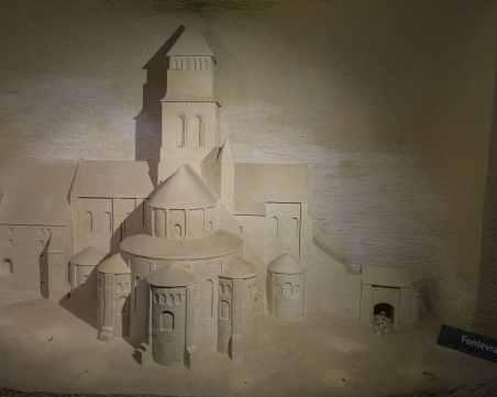 Pierre et lumière-Abbaye Royale de Fontevraud (1)