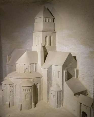 Pierre et lumière-Abbaye Royale de Fontevraud (4)
