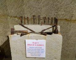 Pierre et lumière-Les outils pour chaque stade de la sculpture (5)