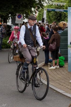Saumur l'avant Anjou velo vintage au village 50