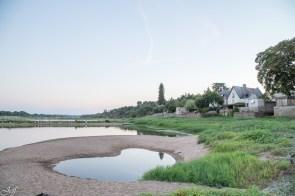 Visite à la Pointe Bouchemaine au coucher de soleil entre la Loire et la Maine (6)