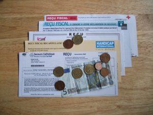 Recus fiscaux de donations