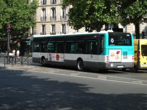 Bus à Paris
