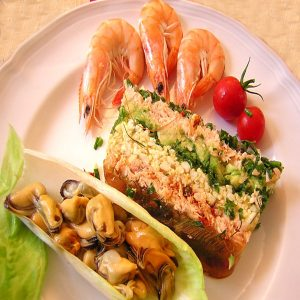 Assiette pour dejeuner