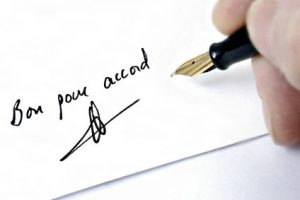 Signature Contrat Assurance Vie