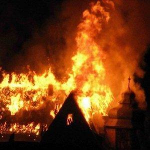 Chateau en feu