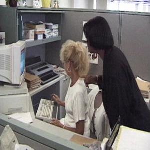 Travailleurs au bureau