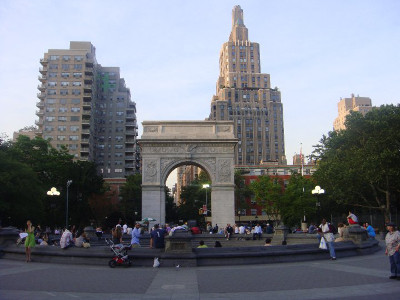 Washington square, New York