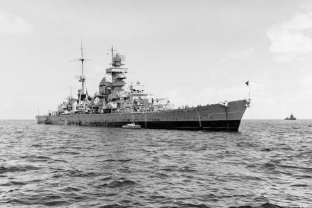 Уничтоженный тремя атомными взрывами нацистский крейсер перестанет угрожать Тихому океану