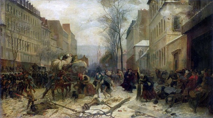 Феликс Филиппото – «Бомбардировка Парижа в 1871»