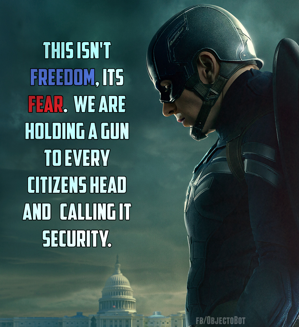 What Would Captain America Do? The Fight for Liberty Versus Military-Industrial Complex NSA Global Intelligence / S.H.I.E.L.D. Montage
