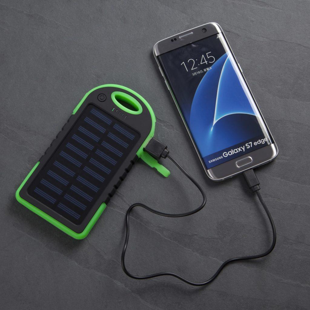 Solar Powered Power Bank