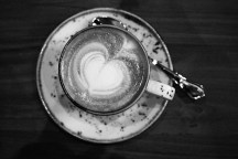 Love is in the coffee