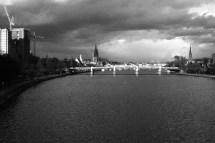 Blick Richtung City
